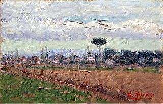 Landscape with Parasol Pine