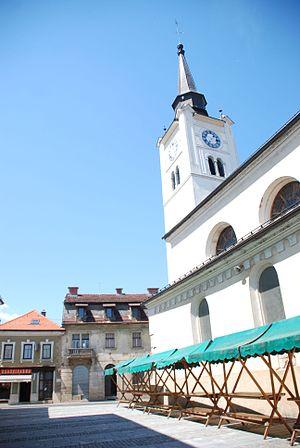Črnomelj - Image: Črnomelj sv. Peter 1