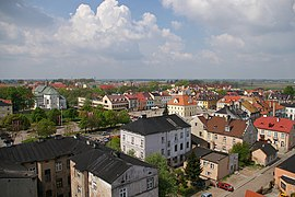 Łęczyca, view from castle 01.jpg