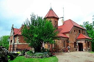 Dąbrowski Manor in Michałowice