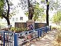 Братская могила в центральном парке ст. Ханская. Фотография Виктора Белоусова. - panoramio.jpg
