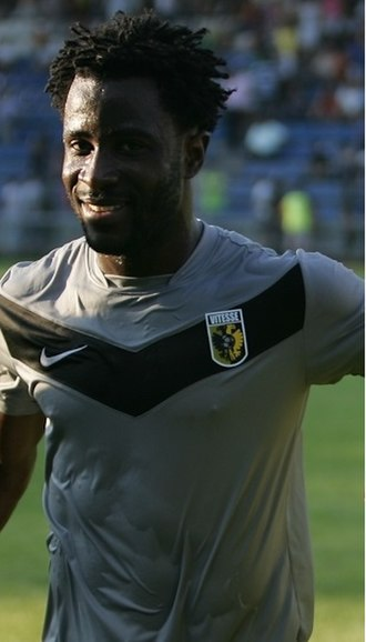 Wilfried Bony - Bony playing for Vitesse in August 2012