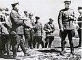 Генерал К.В.Свиридов з офіцерами штабу корпусу, березень 1944 р..JPG