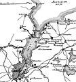 Карта-схема к статье «Киль». Военная энциклопедия Сытина (Санкт-Петербург, 1911-1915).jpg