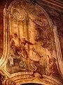Касьцёл сьв. Станіслава ў Магілёве, фрэска на сюжэт з гісторыі ордэну кармялітаў 1.jpg