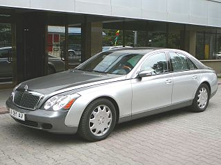 Maybach 57 and 62 Motor vehicle