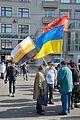 Марш правды (13.04.2014) Три флага.jpg