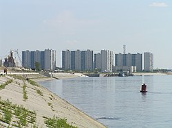 Skyline of Ņižņevartovska