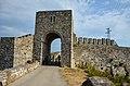 Портата на крепостната стена на Калиакра.JPG