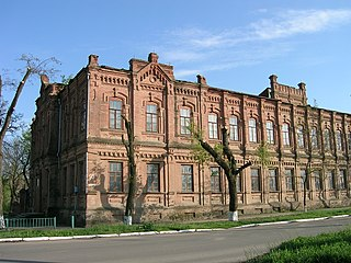 Prymorsk City in Zaporizhzhia Oblast, Ukraine