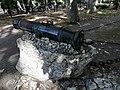 Пушка, стоявшая на адлерском укреплении береговой линии.jpg