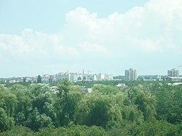 Simferopols bysilhuet.