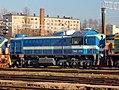 ТЭМ2-2735, Lithuania, Vilnius, Vilnius depot (Trainpix 160393).jpg