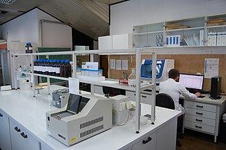 Macedonian Academy of Sciences and Arts - Image: Центар за генетско инженерство и биотехнологија во МАНУ (2)