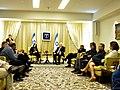 אמנים ישראלים במפגש עם ראובן ריבלין ומירי רגב.jpg
