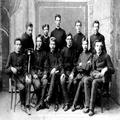 חיים וויצמן בקרב תלמידי כתתו בגימנסיה בפינסק ( 1890) .-PHG-1015828.png