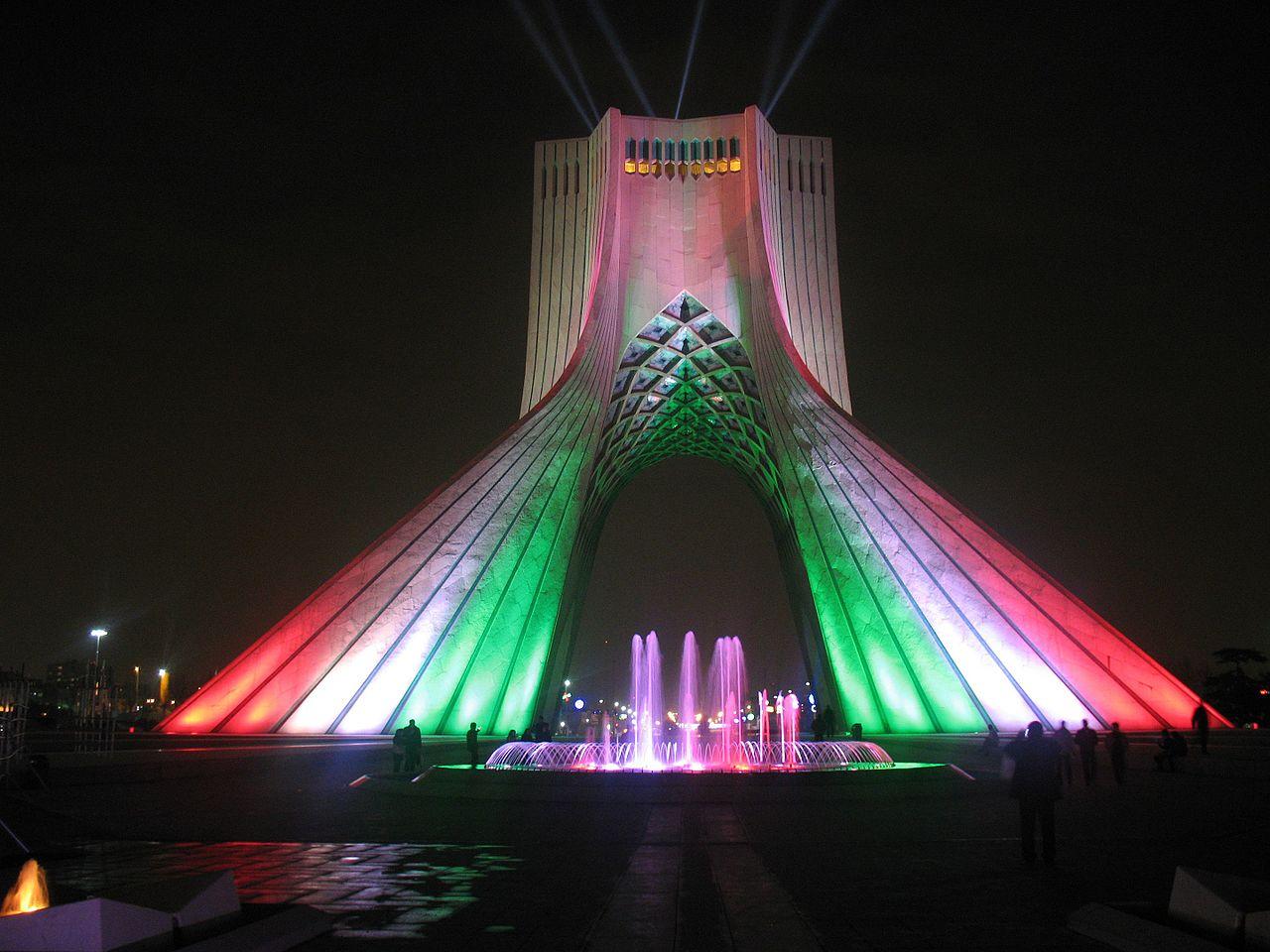 File:میدان آزادی، میدان شهیاد، برج آزادی، برج شهیاد، تهران Azadi ...