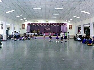 Protpittayapayat School - Image: หอประชุม