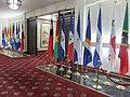 中華民國外交部大廳 中華民國國旗與邦交國國旗 20150713.jpg