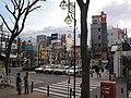 成増駅南口・大時計(瀬尾公治 涼風 第1巻 P.84) - panoramio.jpg