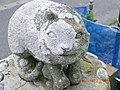 猫塚のねこさん(左耳が取れていてカワイソウ) - panoramio.jpg