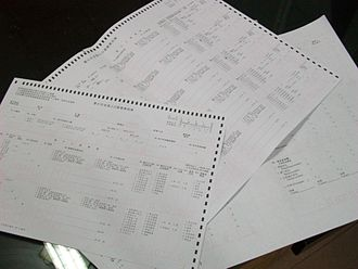 Sixth National Population Census of the People's Republic of China - Some of the forms used to collect census data