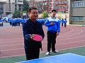 雁塔 陕师大附中分校在打乒乓球 08.jpg