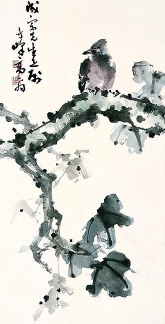 Lingnan school of painting - Image: 高奇峰 鳥