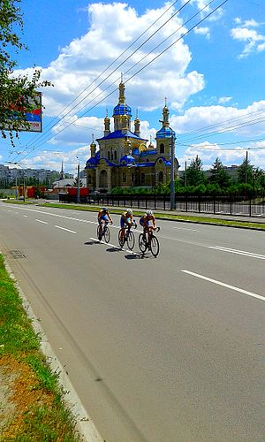 (79) BYCICLE COMPETITION AT BYCICLE DAY IN CITY OF KHARKIV STATE OF UKRAINE PHOTOGRAPH BY VIKTOR O LEDENYOV 20160709