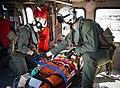 -USS Mount Whitney (LCC 20) medical evacuation drill in Gaeta, Italy, May 7, 2020- (49870680751).jpg