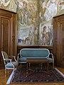 027 Ajuntament de Barcelona, sala del Bon Govern, amb pintures de Josep Obiols.jpg