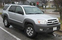 2003–2005 Toyota 4Runner SR5 4WD (US)