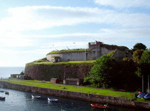 Nothe Fort - The Fort is situated beside Weymouth Harbour.