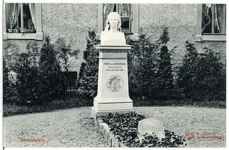 Novalis - The grave of Novalis in the Weißenfels cemetery