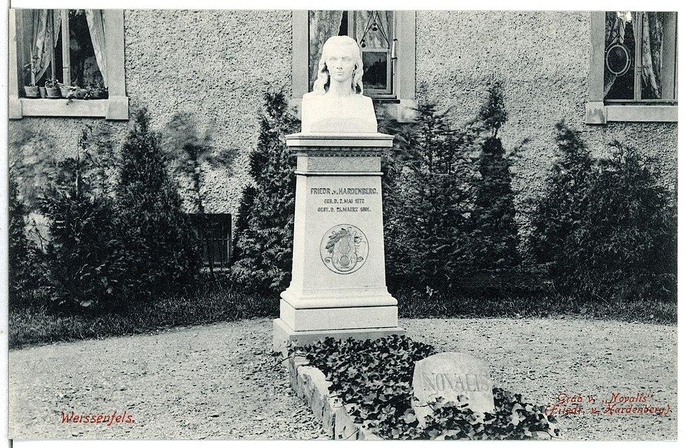 07272-Weißenfels-1906-Grab von Novalis-Brück & Sohn Kunstverlag