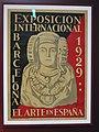 074 Museu de Prehistòria de València, la Dama d'Elx, cartell de l'Exposició Internacional de 1929.jpg