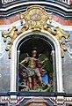 084 Església de Sant Miquel dels Reis (València), altar major, Sant Miquel vencent el dimoni.jpg