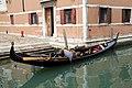 0 Venise, gondolier sur le Rio dei Frari (1).JPG