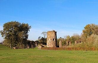 Walhain - Image: 0 Walhain Ruines du château