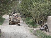 1-87 Infantry engaging Taliban