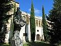 108 Sant Jeroni de la Murtra, Obra Nova i monument a Ramon Pané.JPG
