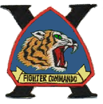 10 Fighter Squadron, Commando emblem.png