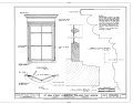 137 Main Street, Shop Window, Nazareth, Northampton County, PA HABS PA,48-NAZ,1- (sheet 1 of 1).png
