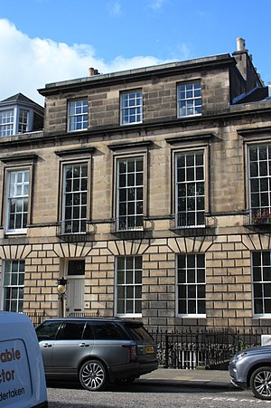 George Ballingall - 13 Heriot Row, Edinburgh