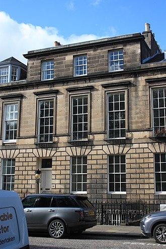 George Ballingall - 13 Heriot Row, Edinburgh