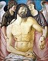 1473 Bellini Der tote Christus, von zwei Engeln gestützt Gemäldegalerie anagoria.jpg