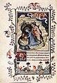 14th-century painters - Page from the Très Belles Heures de Notre Dame de Jean de Berry - WGA16009.jpg