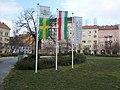 16, 15, 14, 13 and 12 Mátyás Square, 2016 Józsefváros.jpg