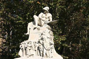 Ernesto Bazzaro - Monument to Felice Cavallotti, Milan