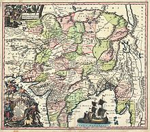 1740 Seutter Map of India, Pakistan, Tibet and Afghanistan - Geographicus - IndiaMogolis-seutter-1740.jpg